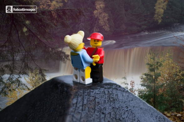 Minifigs at Tahquamenon Falls-1